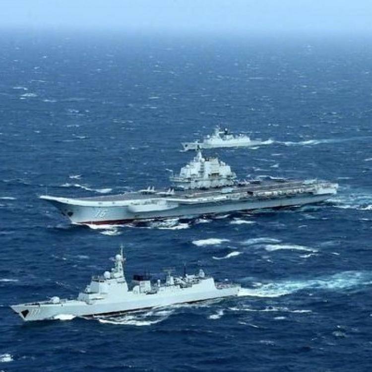 中國海軍下周三台灣海峽實彈演習