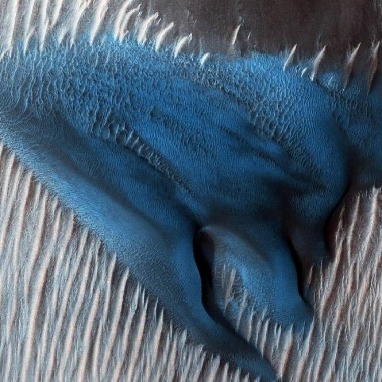 天氣回暖 揭火星神秘美麗一面
