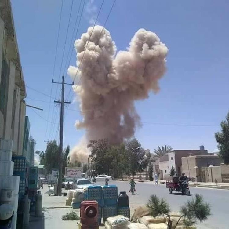 阿富汗發生連環爆炸27死傷