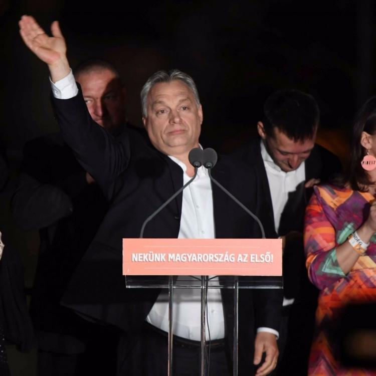 總理歐爾班取得壓倒性勝利
