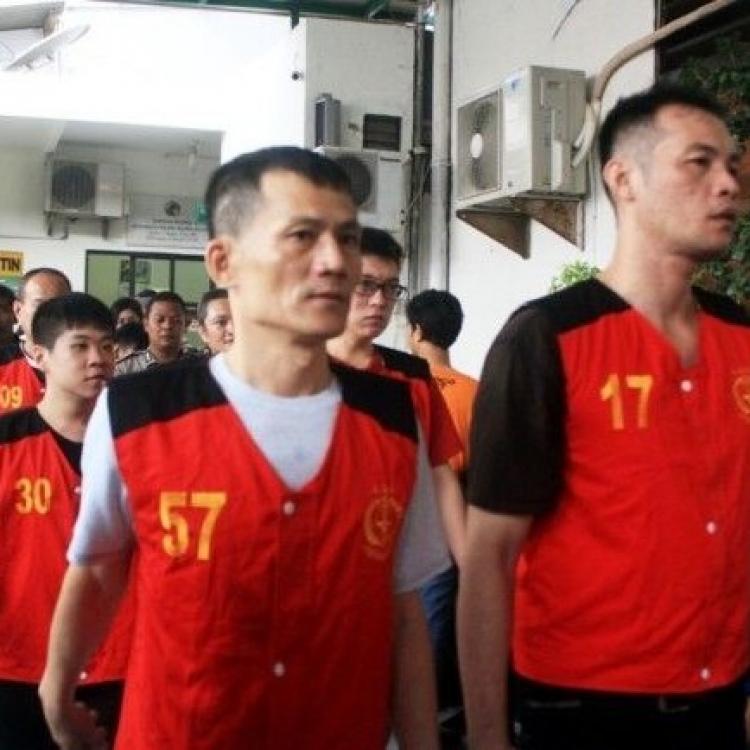 八名台灣人被判死刑