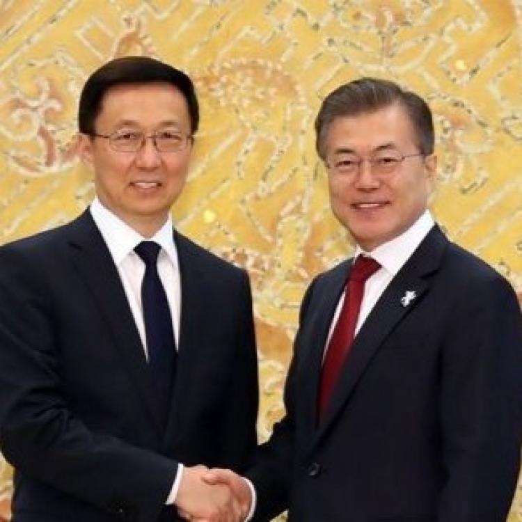 籲中韓合作解決朝核問題