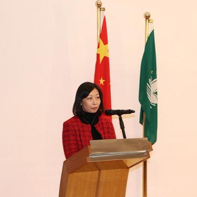 新任文化局局長穆欣欣今作就職宣誓