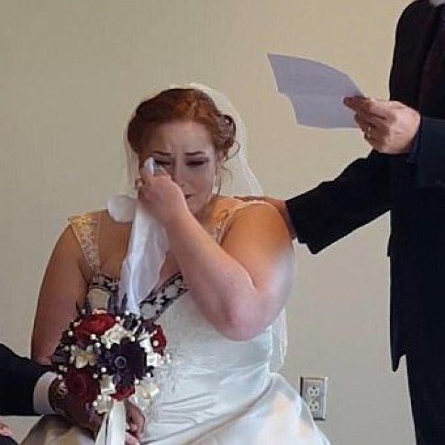 亡父遺信祝福女兒新婚