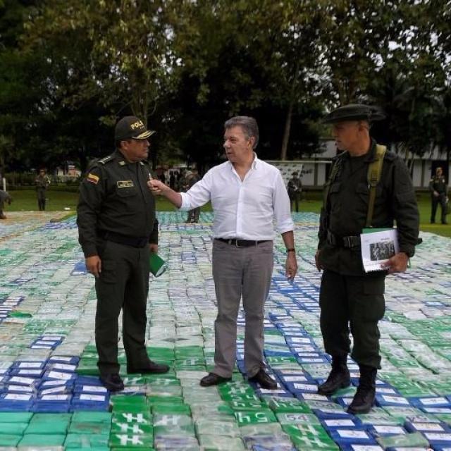 哥倫比亞撿獲12噸可卡因