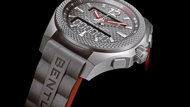 賓利首款電子腕錶