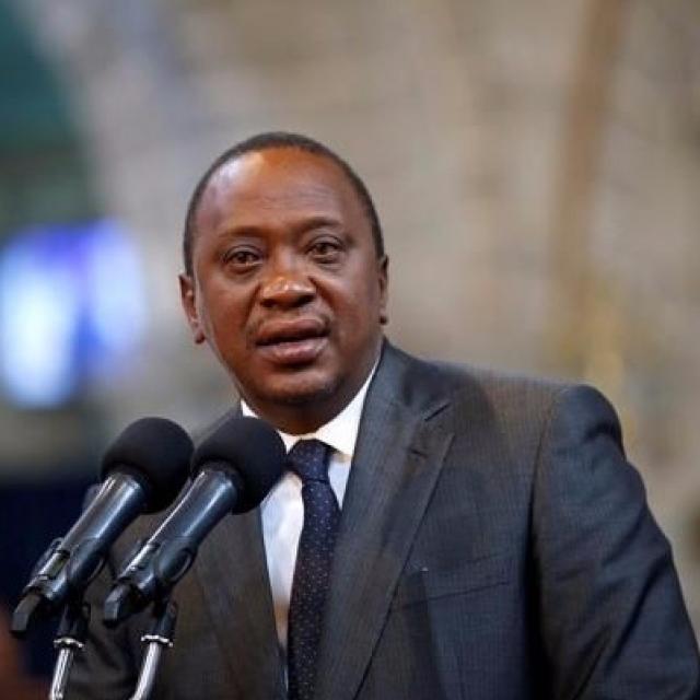現任總統肯雅塔在重選中獲勝