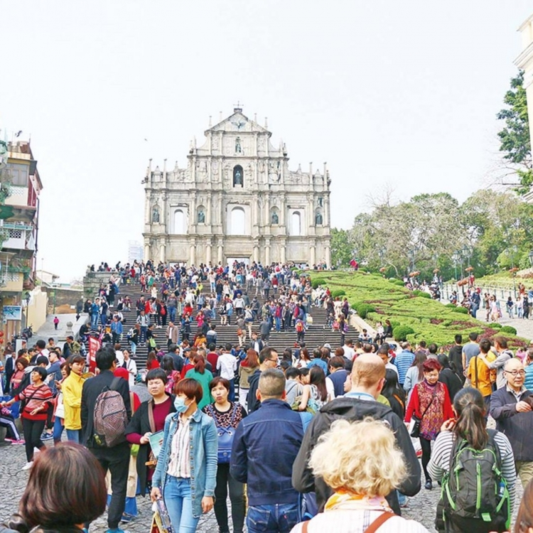 內地旅客達55.8萬人次