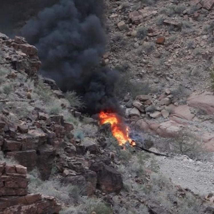 美大峽谷有直升機墜毀 三死四失聯