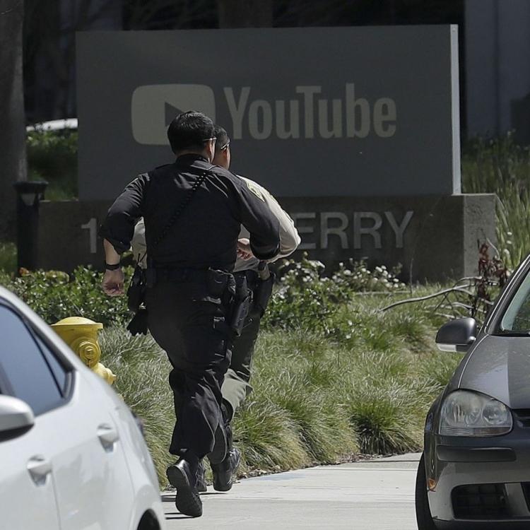 女槍手YouTube總部傷三人