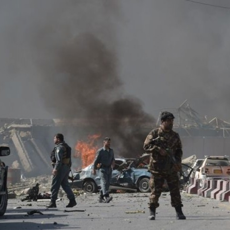 阿富汗連環爆炸案增至74死傷 IS認責