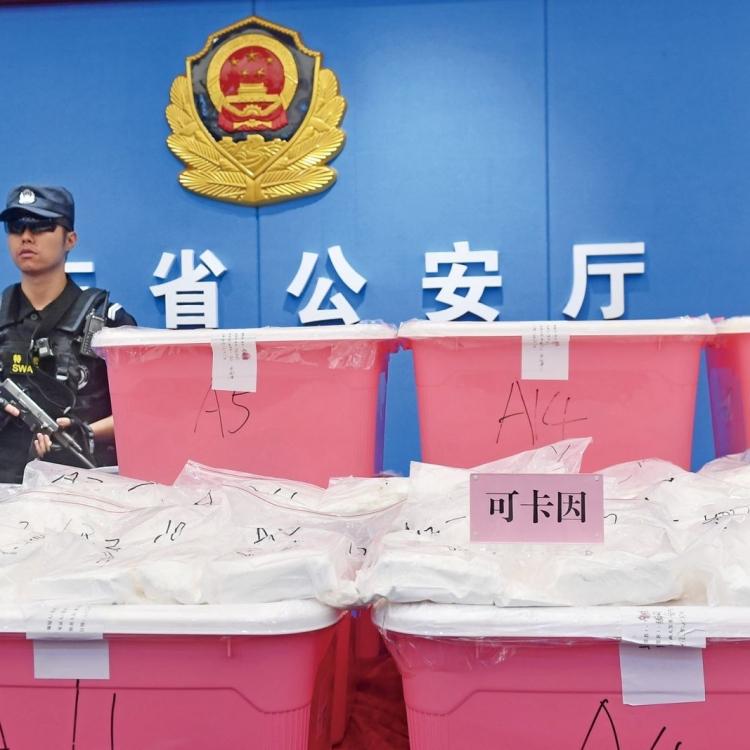 九名香港毒梟落網