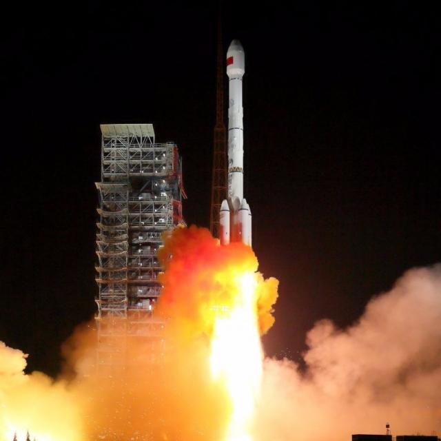 中國成功發射北斗三號衛星