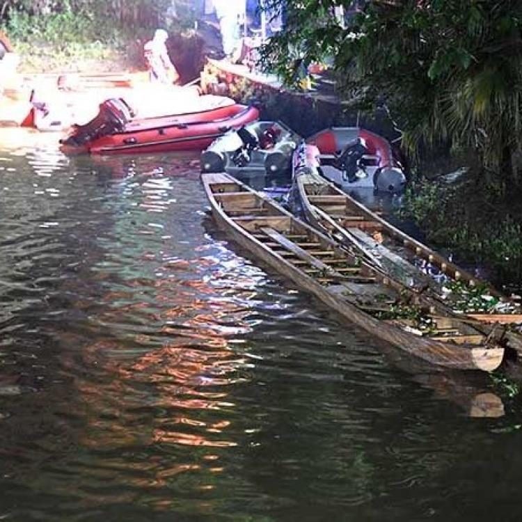 桂林翻龍舟17死 兩人被扣查