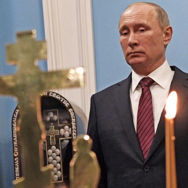 英媒:普京累了