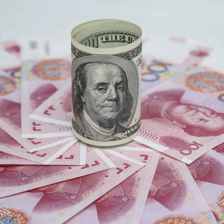 人民幣中間價報6.2832 連跌兩日