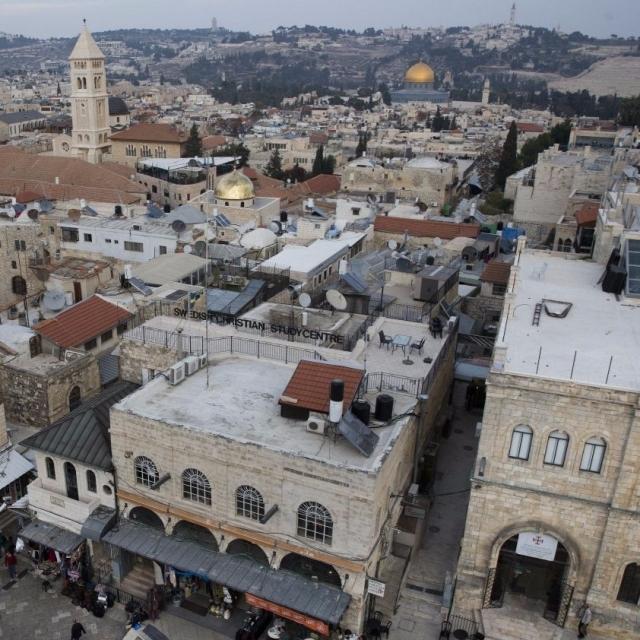 特朗普將就耶路撒冷問題作交代