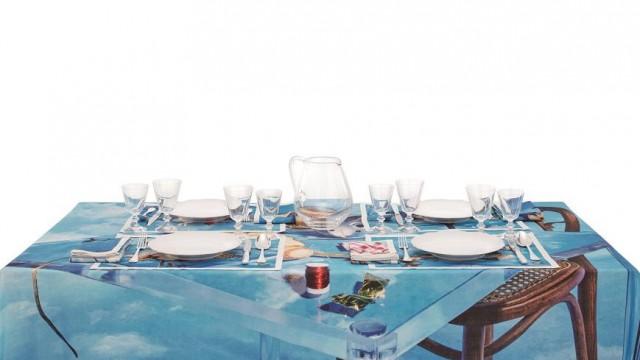 餐桌上的攝影展