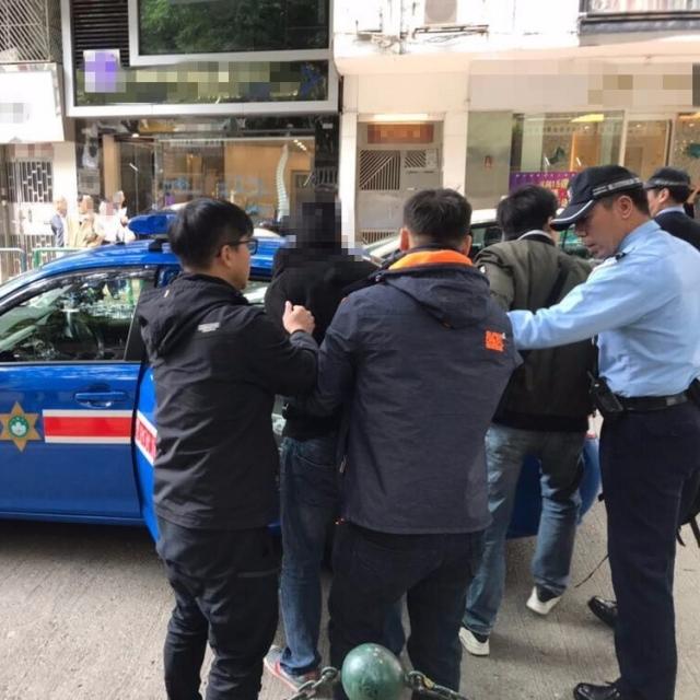 街頭對女途人自瀆終被捕