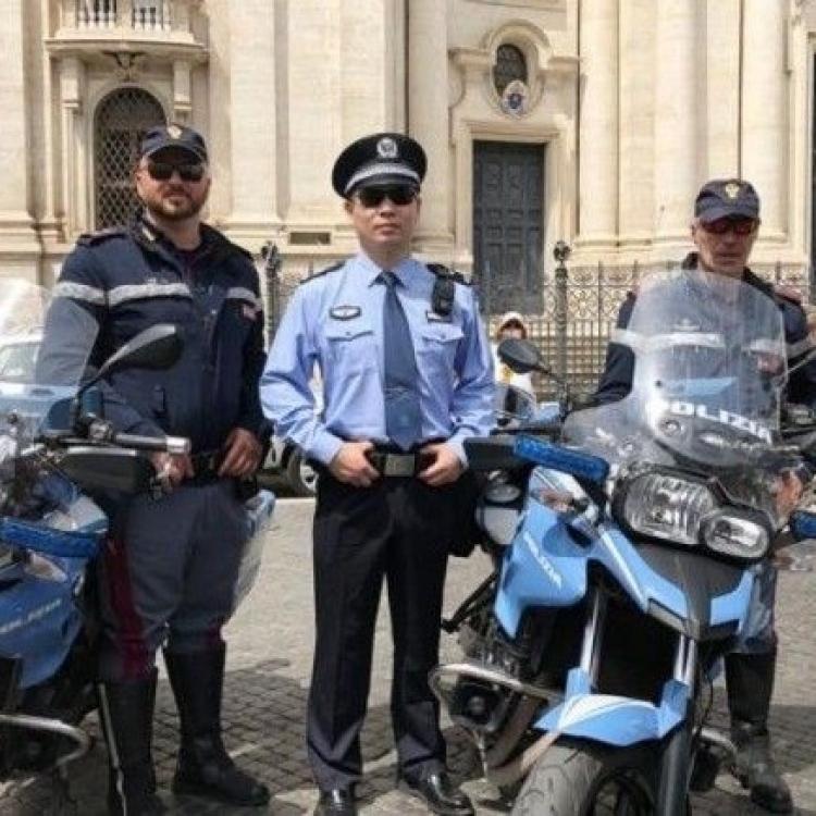 中意警方在意國第三次聯合巡邏