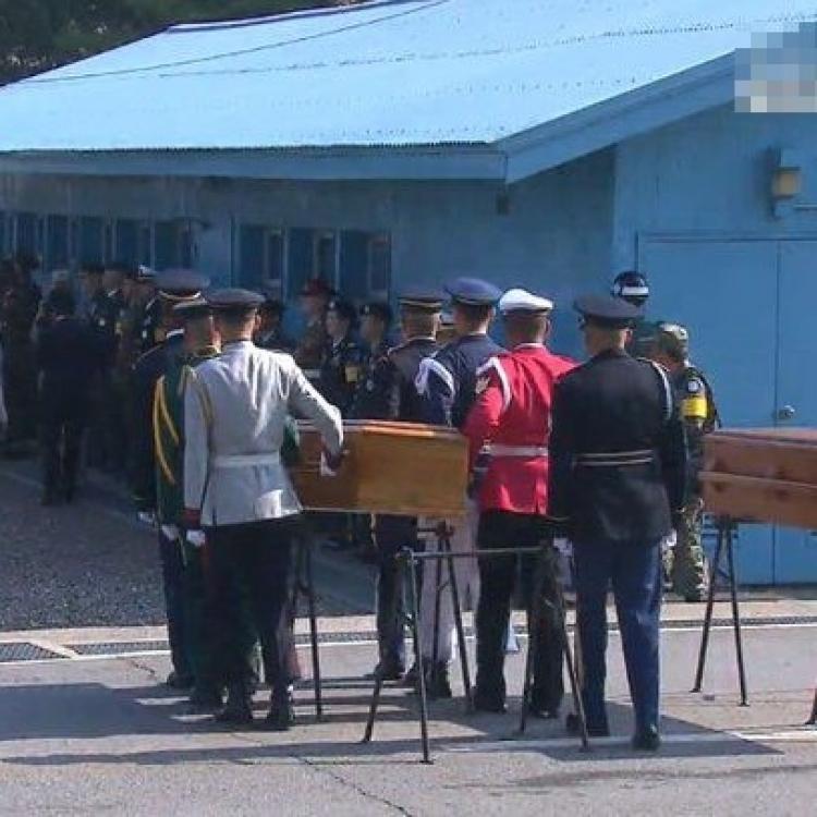 準備移送韓戰美兵遺骸