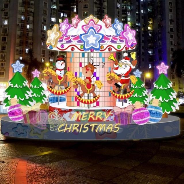 亮燈迎佳節 聖誕燈飾12月初放亮