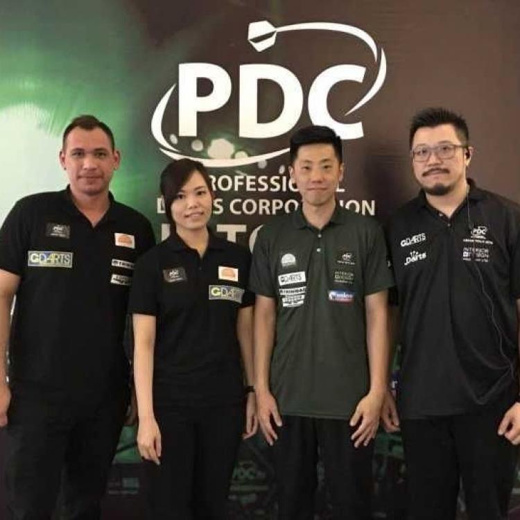 PDC亞洲飛鏢巡迴賽圓滿舉行