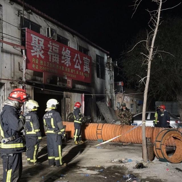 北京大興區新建村大火19死