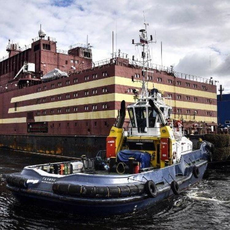 【全球首座】俄羅斯展示浮動核電廠