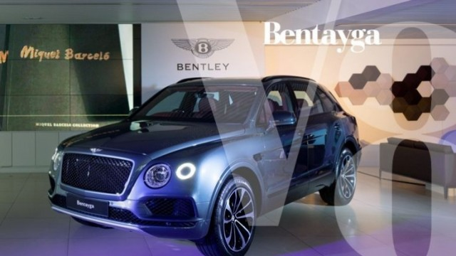 Bentley Bentayga V8 非凡運動新作