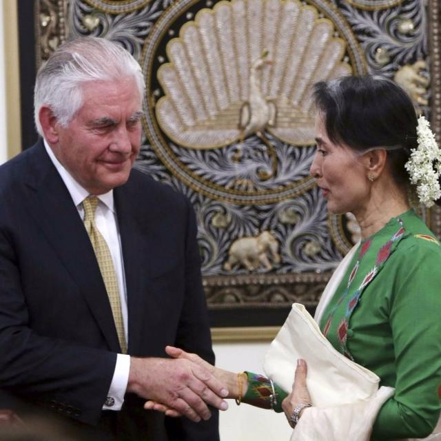 稱因羅興亞問題制裁緬甸不明智