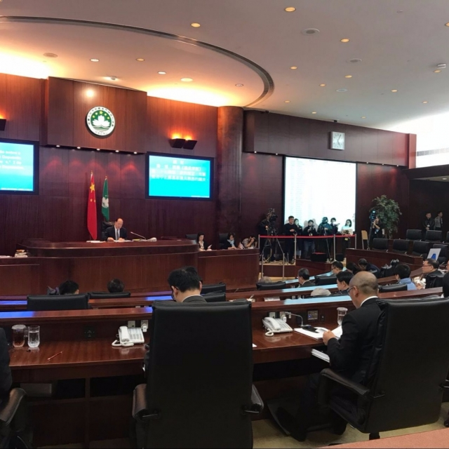 立法會表決議員蘇嘉豪職務被中止