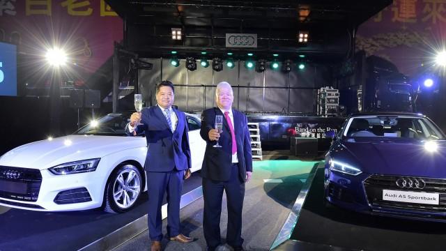 全新Audi A5登臨澳門