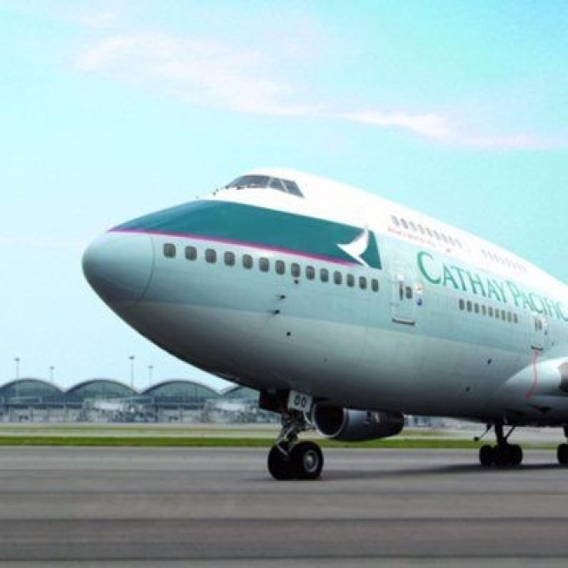 國泰飛曼谷客機延遲起飛