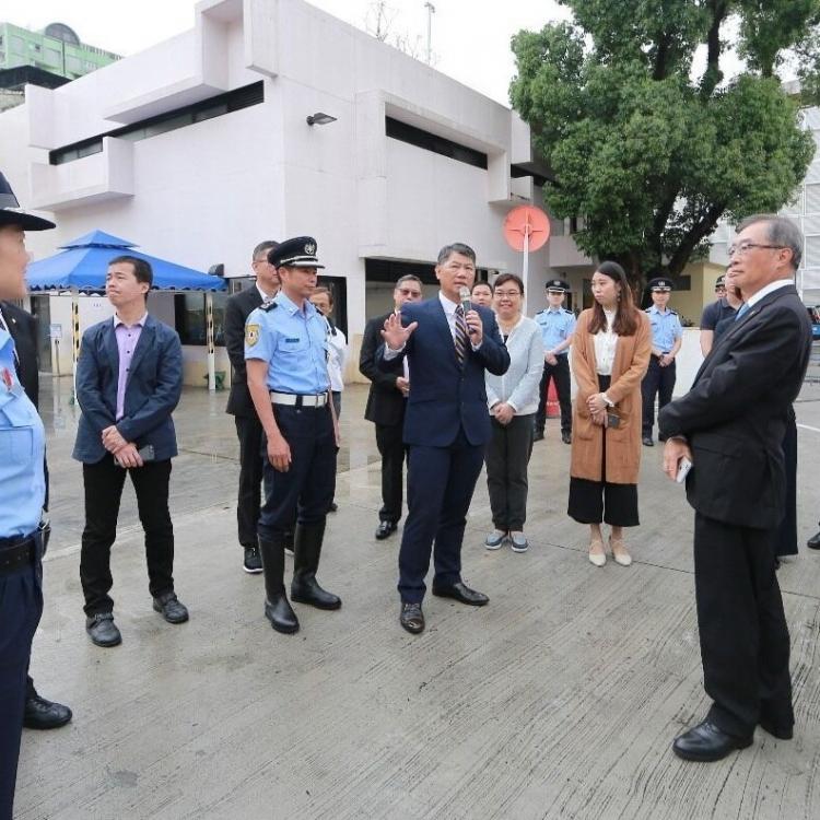 治安警與社團回顧社區警務