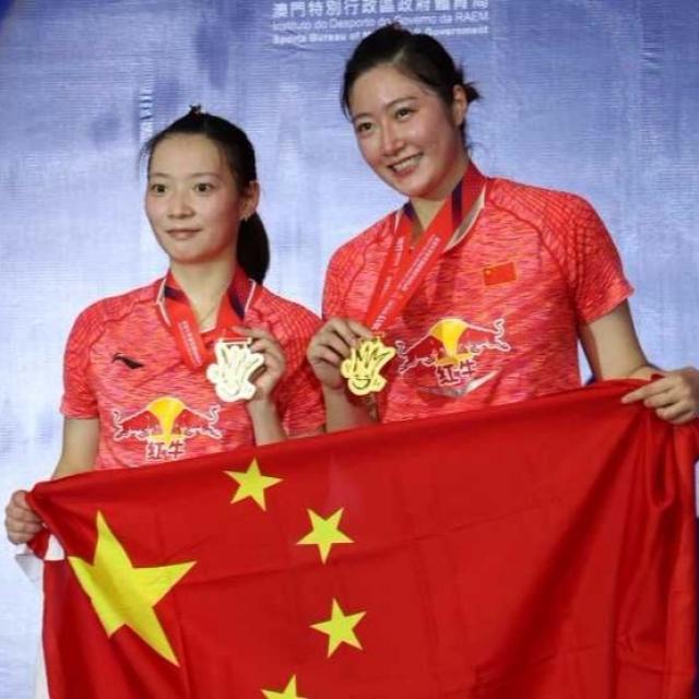 中國球手攬三項錦標