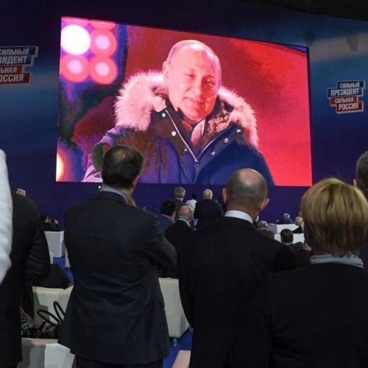 習近平祝賀普京連任俄羅斯總統