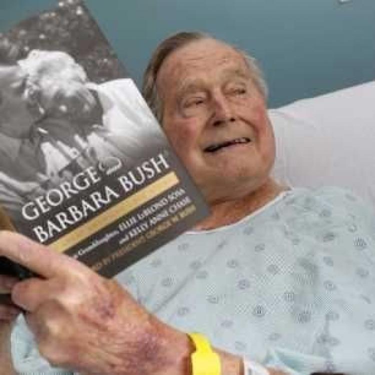 93歲老布殊今出院