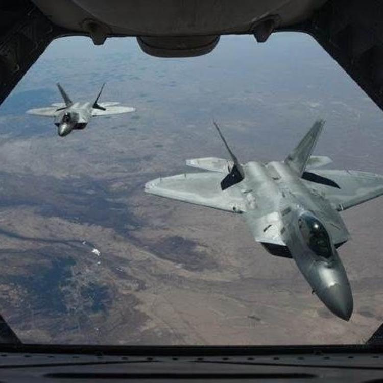 美駐沖繩基地突部署14架隱形戰機