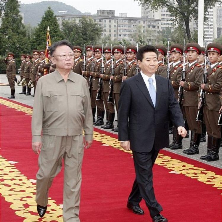 金正恩將檢閱韓陸海空三軍儀仗隊