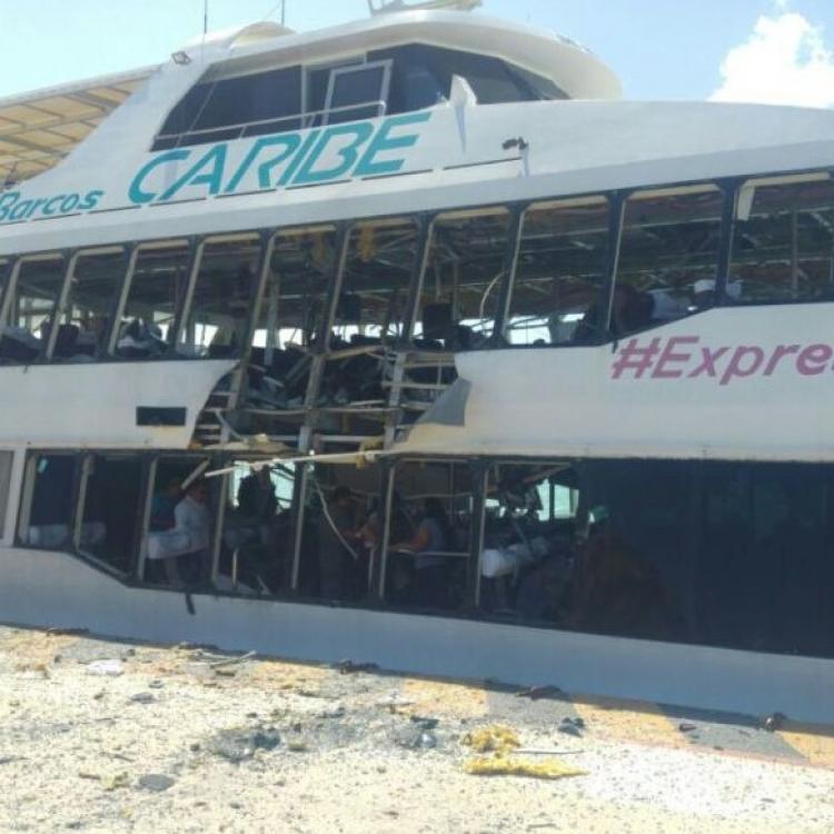 墨西哥遊輪爆炸25人傷
