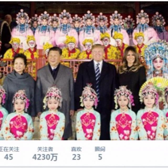 特朗普:感謝中國