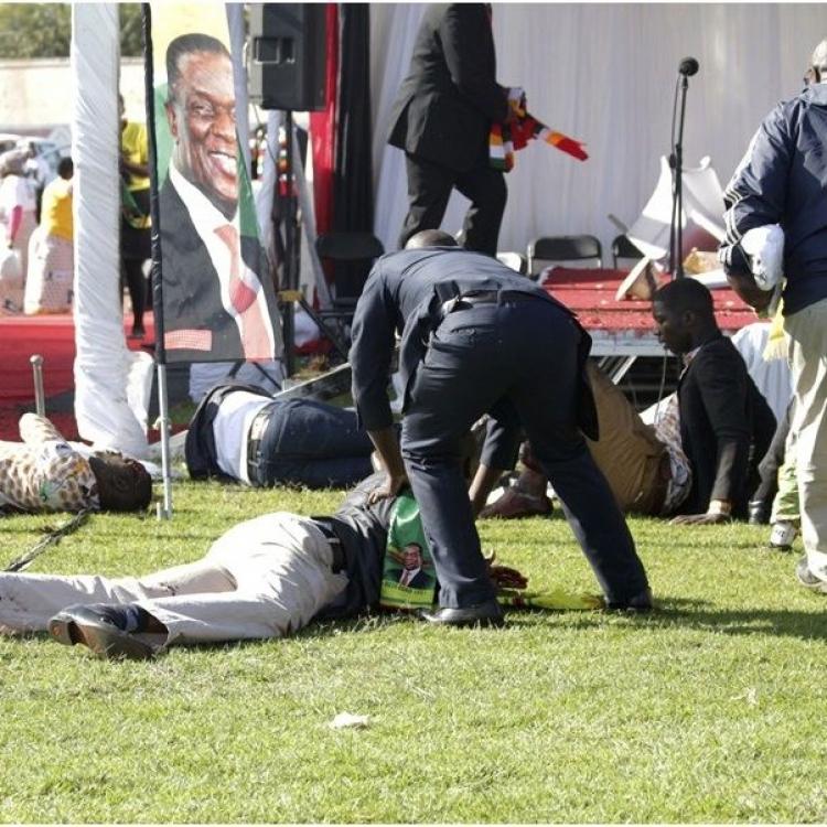 42人受傷 包括副總統