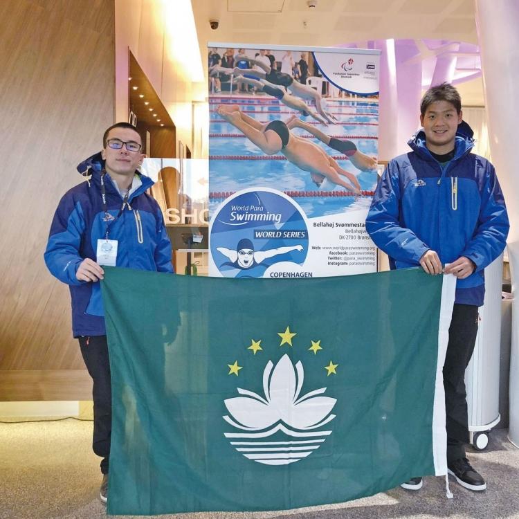 特奧會代表世界殘疾泳賽締佳績