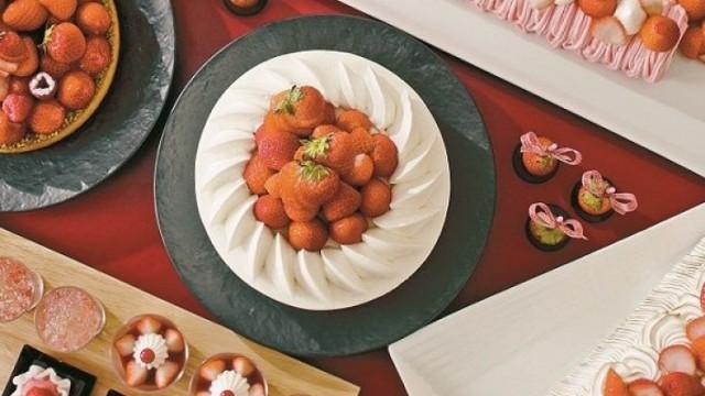 甜品放題!飽嚐草莓甜食