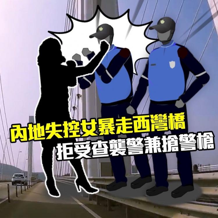 拒受查襲警兼搶警槍