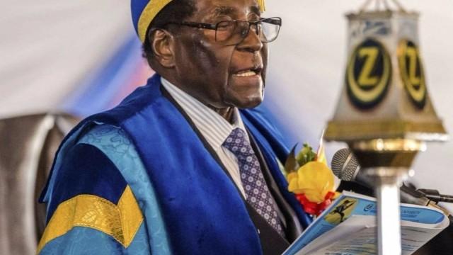 津國總統穆加貝同意下台