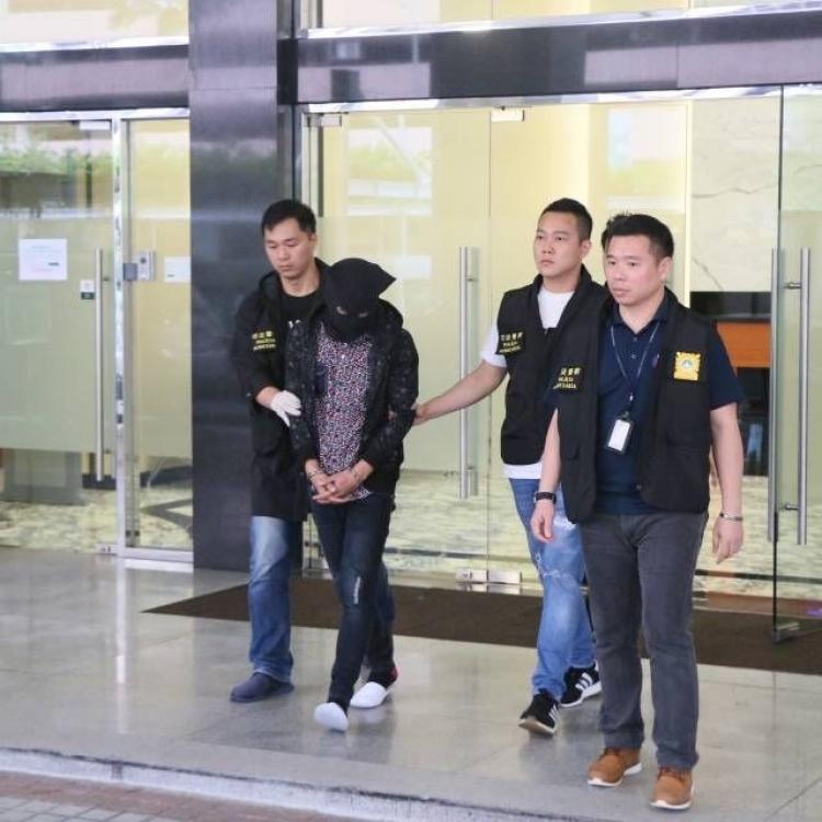 21歲馬拉男「車手」被捕