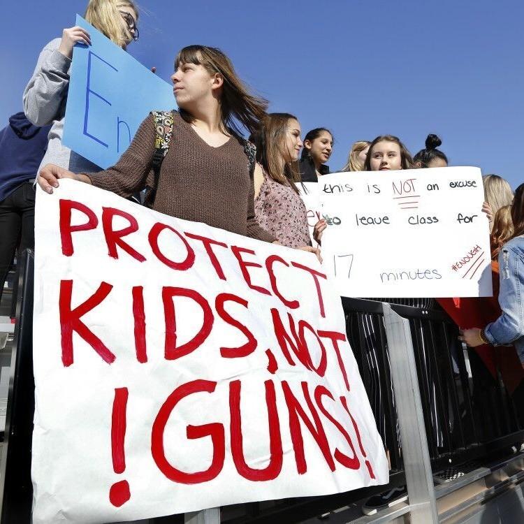 美國各地學生示威促槍管