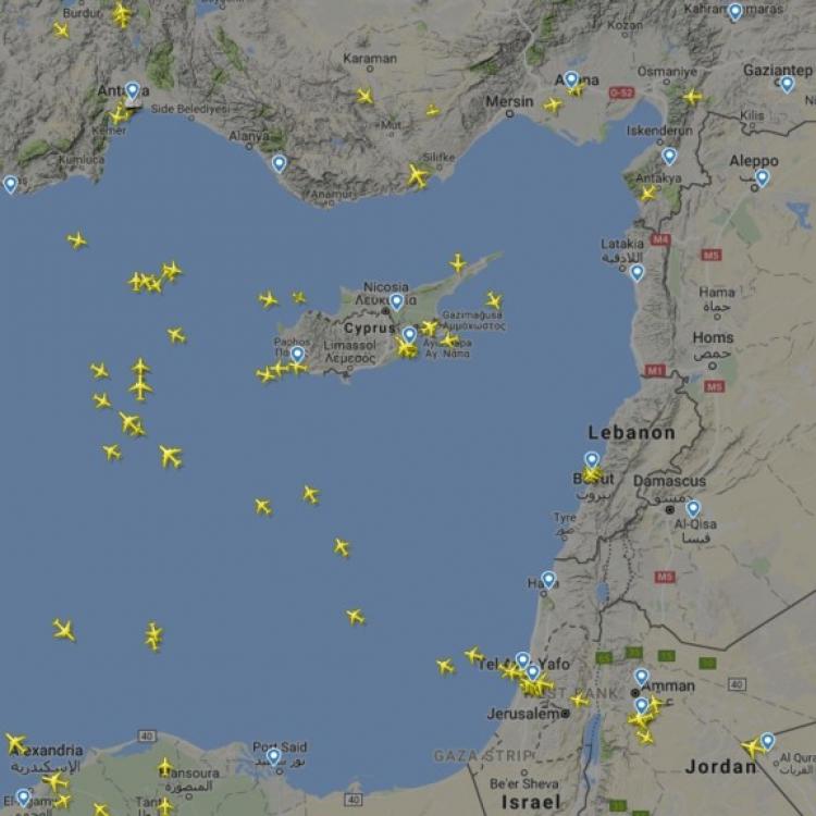歐航警告地中海客機留意
